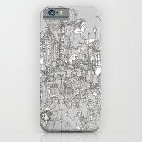 Interlocking Lives, Lines, and Transit Lanes iPhone 6 Slim Case