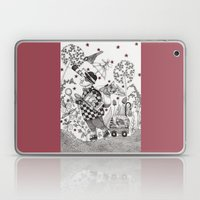 Mr. Hat Goes To The Park Laptop & iPad Skin