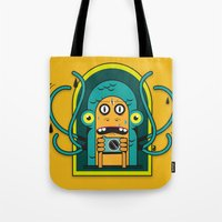 Danger At The Moment Of … Tote Bag