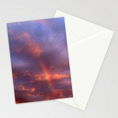 Dramatic Rainbow Stationery Cards