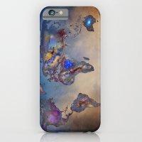 Stars World Map. Blue iPhone 6 Slim Case