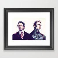Stony Framed Art Print