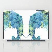 Elephant Head II iPad Case