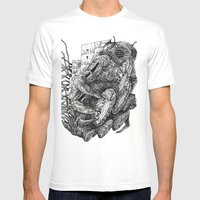 Sculpting A Galaxy Mens Fitted Tee White SMALL