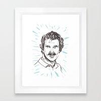 Tom Selleck! Framed Art Print