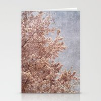Beautiful Day - (pink cherry blossoms) Stationery Cards