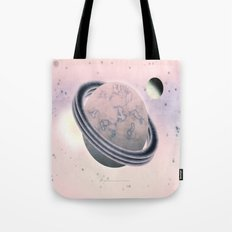 RED SPACE - 010 Tote Bag