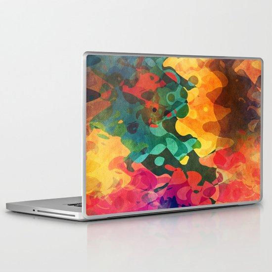 Color y psicodelia Laptop & iPad Skin