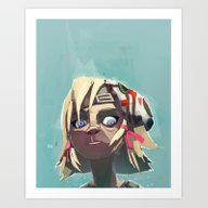 Borderlands - Tiny Tina Art Print