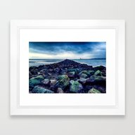 Road To The Sea Framed Art Print