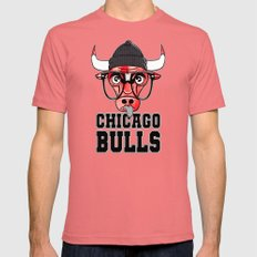 Geeky Bulls IPhone 4 4s … Mens Fitted Tee Pomegranate SMALL