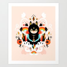Rainbow Queen Art Print