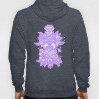 Purple Henna Hoody