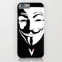 iPhone & iPod Case featuring Vendetta by The Vector Studio