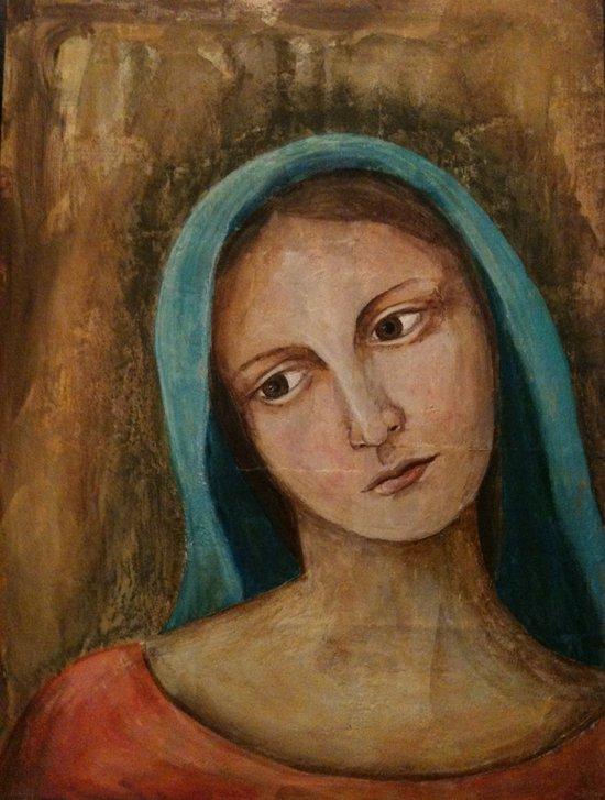 Elisabeth Portrait Painting Print Canvas Print