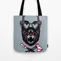 Wild BEARd Tote Bag