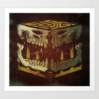 Bone Slag Art Print