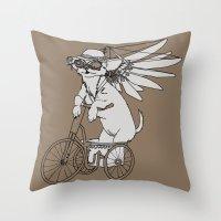 Steam Punk Chihuahua Throw Pillow