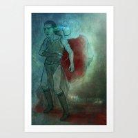 Thor & Loki - Dream Brot… Art Print