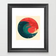 The Wild Ocean Framed Art Print