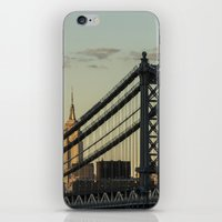 The Bridge And The Empire iPhone & iPod Skin