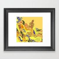 Movement Framed Art Print