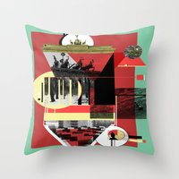Berlin. Throw Pillow
