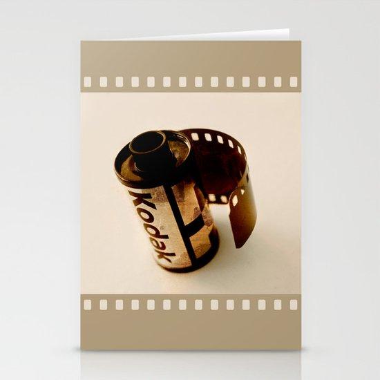 The last kodak film Stationery Card