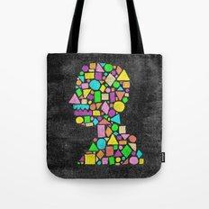 Mosaic Silhouette Tote Bag