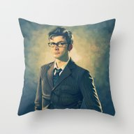 David Tennant - Doctor W… Throw Pillow