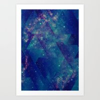 Static Waves Art Print