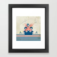 Are You Happy Framed Art Print