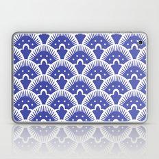 Fan Pattern Blue Laptop & iPad Skin
