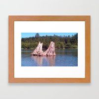 It Takes Two Framed Art Print
