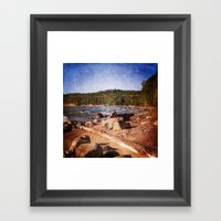 Michigan Upper Peninsula… Framed Art Print