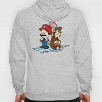 Mario and Kong Hoody