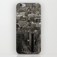 Old Downtown iPhone & iPod Skin