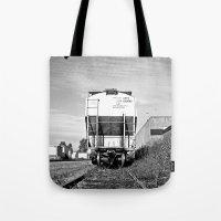 Urban train car Tote Bag