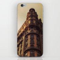 Ansonia, NYC - Dusk iPhone & iPod Skin