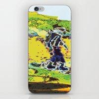 Snow Boarding iPhone & iPod Skin