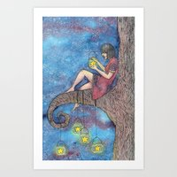 Star Collector Art Print