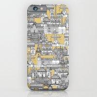 Paris toile gold iPhone 6 Slim Case