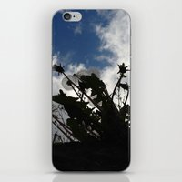 Eyes skywards iPhone & iPod Skin