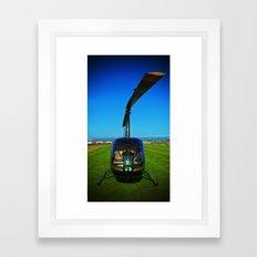 Helicopter Framed Art Print