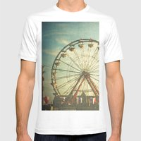 Carnival - Color Mens Fitted Tee White SMALL