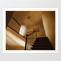 Palmer stairs Art Print