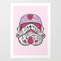 En rose Art Print