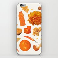 ORANGE II iPhone & iPod Skin