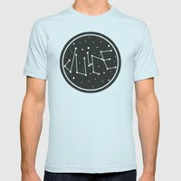Juice Galaxy Mens Fitted Tee Light Blue SMALL