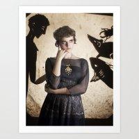 The Princess Who Never S… Art Print